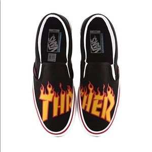 🔥VANS x THRASHER🔥 Slip On Sneakers